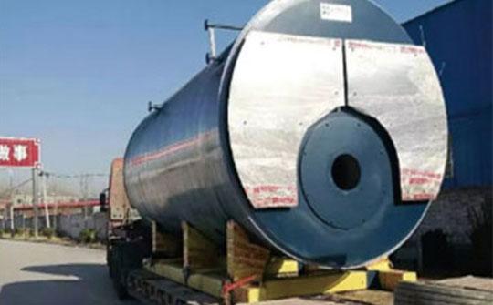 华泰超低氮蒸汽锅炉发往新疆,大显身手!