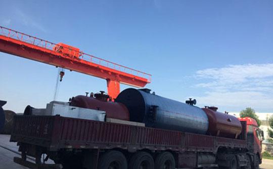 我公司有机热载体锅炉远销保加利亚