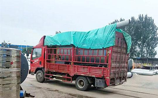 新疆化肥集团20吨燃气冷凝低氮锅炉发货