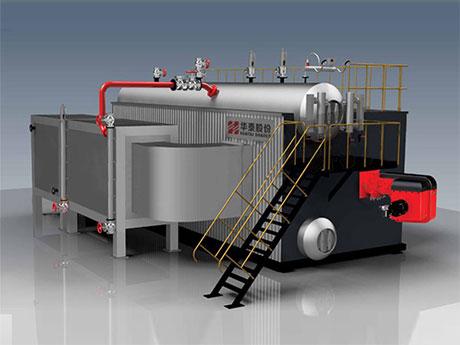 SZS燃气(油)蒸汽水管锅炉